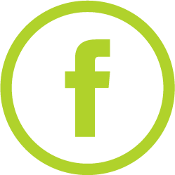 facebook logo green