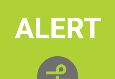 Green square with Alert Icon