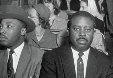 Martin Luther King Jr On a Bus